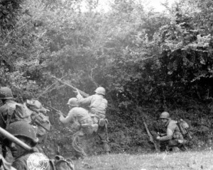 U_S_Army_in_World_War_II_Photograph_of_Hedgerow_Fighting_After_D-Day