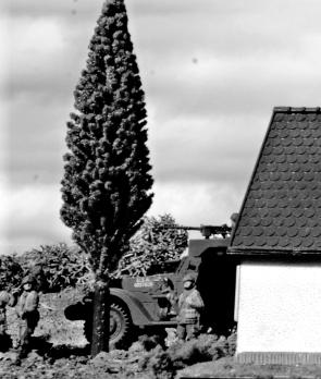 1/72 normandy diorama 060 bw