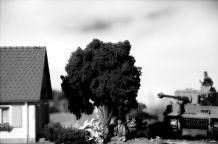 1/72 normandy diorama 068 bw