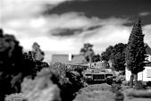 1/72 normandy diorama 071 bw