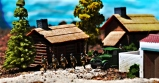 1/72 Russian Village Diorama 029 crop