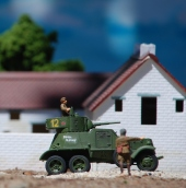 1/72 Russian Village Diorama 040 crop