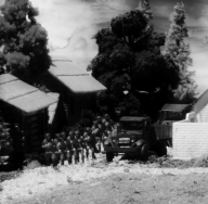 1/72 Russian Village Diorama 043 crop2 bw