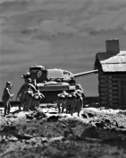 1/72 Russian Village Diorama 164 bw1