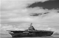 USS Ticonderoga 004 bw1
