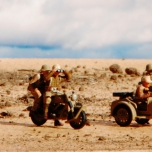 Italeri German Motorcycles and Afrika Korps_010