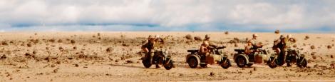 Italeri German Motorcycles and Afrika Korps_010