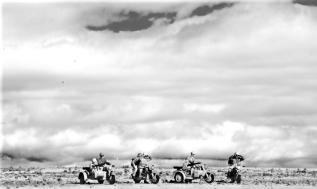 Italeri German Motorcycles and Afrika Korps_022