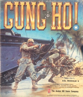 "The ""Gung Ho"" Module of the Advanced Squad Leader series, which includes counters to represent Chinese forces and two scenarios based on Chinese actions."