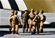 """1/76 """"Eisenhower"""" with troops."""