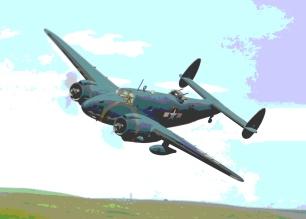 PV-1 Ventura_in_flight_003