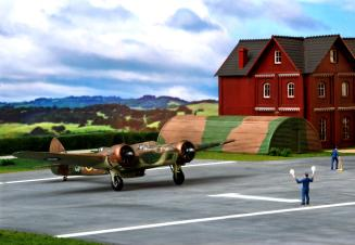 RAF Dio with Blenheim and Spits 084