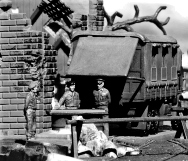 Monty's Caravan by Revell Germany (formerly a Matchbox kit)