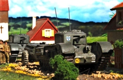 Airfix 1/76 Churchill Crocodile and Mk VII