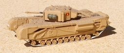 ESCI Churchill Mk III built 30 years ago